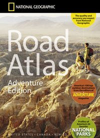 National Geographic Road Atlas- Adventure Edition