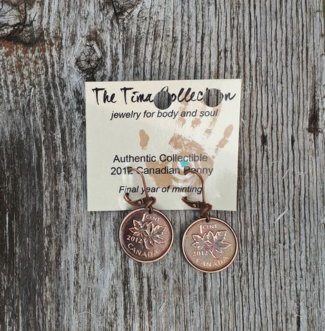 Canadian Penny Jewellery