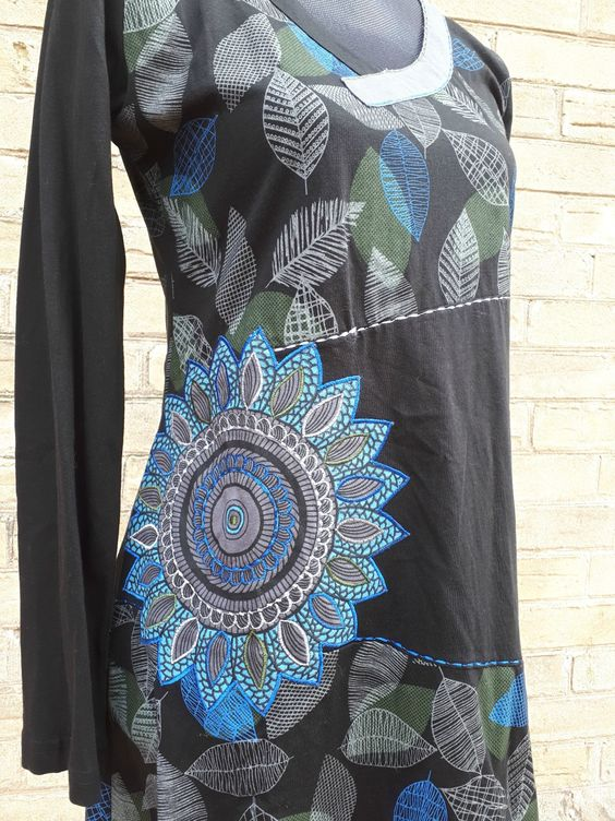 Leaves Printed Tunic