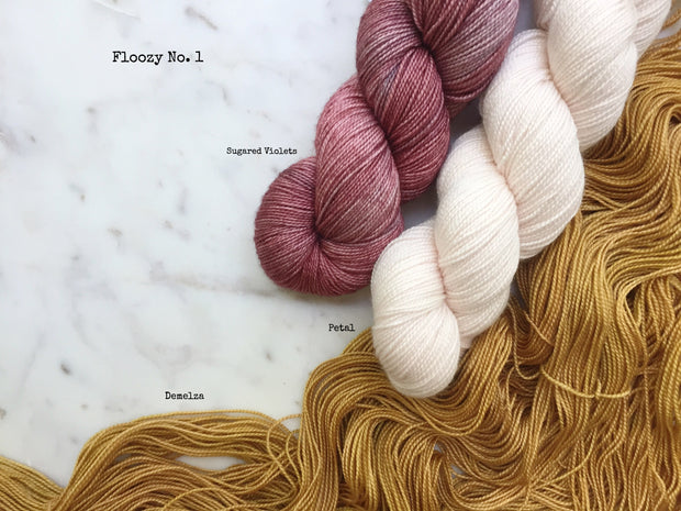 Floozy Cardigan Kit {Dye-To-Order}