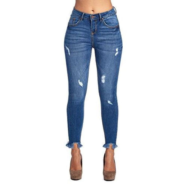 Blue Age Womens Butt-Lifting Skinny Jeans Jp1046H_Medium Wash / 1 Jeans