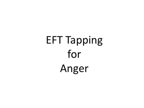 Anger EFT Tapping Guide (Audio mp3)