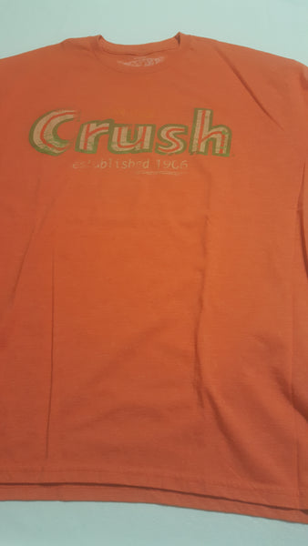 Orange Crush Established 1906, Soda Tee, XXL Orange Short Sleeve Tee Shirt, T-Shirts, FREE Shipping