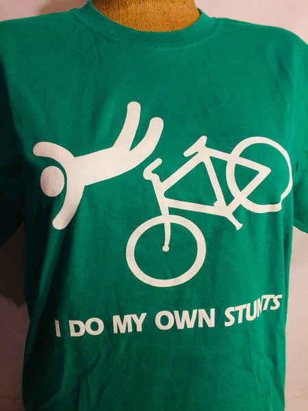 I do my Own Stunts - Bicycle TShirt