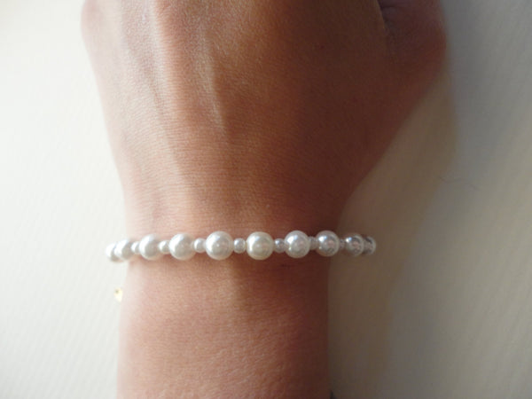 Pearl Bracelet, Vintage Jewelry, FREE Shipping