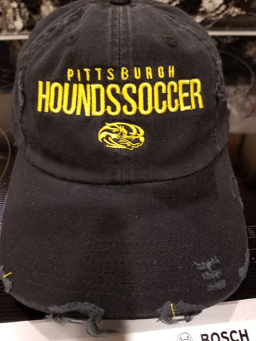 Hat, Hounds Distressed Hat