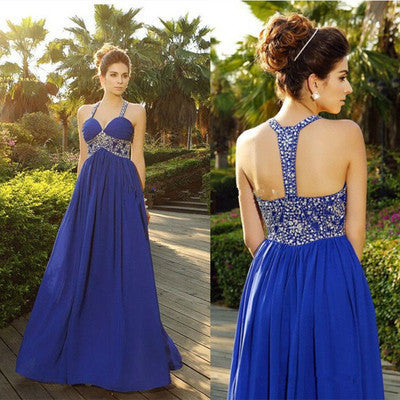 royal blue Prom Dresses,charming Prom Dress,Dresses For Prom,formal Prom Dress,long Prom Dress,BD1010 - dream dress