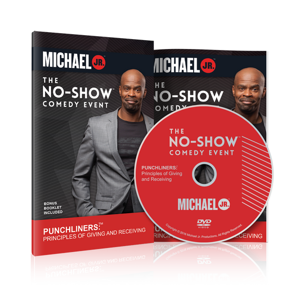 No Show Comedy Event DVD and Booklet