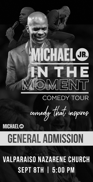 Michael Jr. Live @ Valparaiso, IN -- Michael Jr. In the Moment Comedy Tour Sept 8