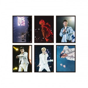 POSTER SET - SECHSKIES CONCERT YELLOW NOTE GOODS