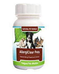 AllergiClear Pets: Naturally prevents allergies in dogs & cats