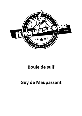 """Boule de suif"" by Guy de Maupassant (Downloadable eBook)"
