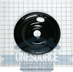 "Brand New Drip PAN, 6"" Black  93169204B"