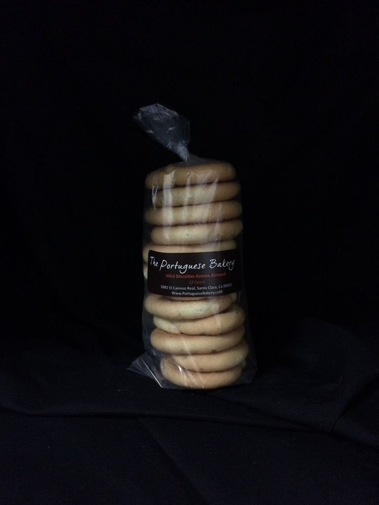 Almond Biscoitos Small Stack Mini 12Ct. (3.5oz)
