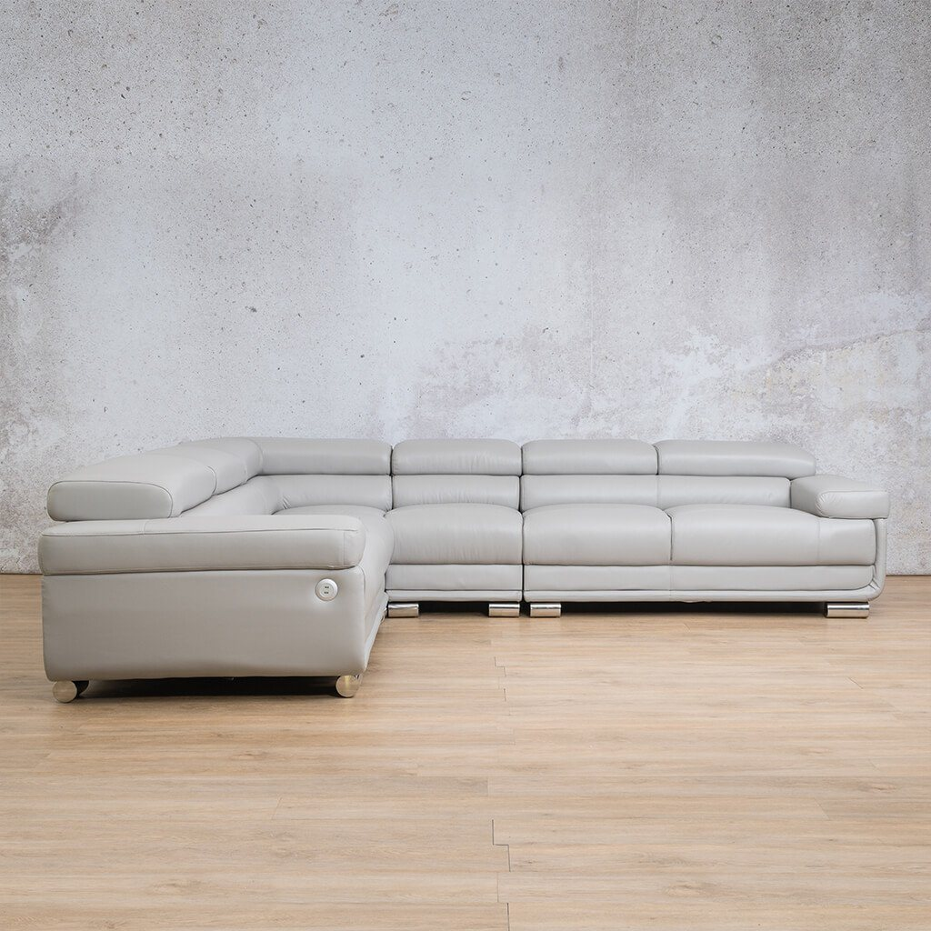 Tobago Leather Sectional