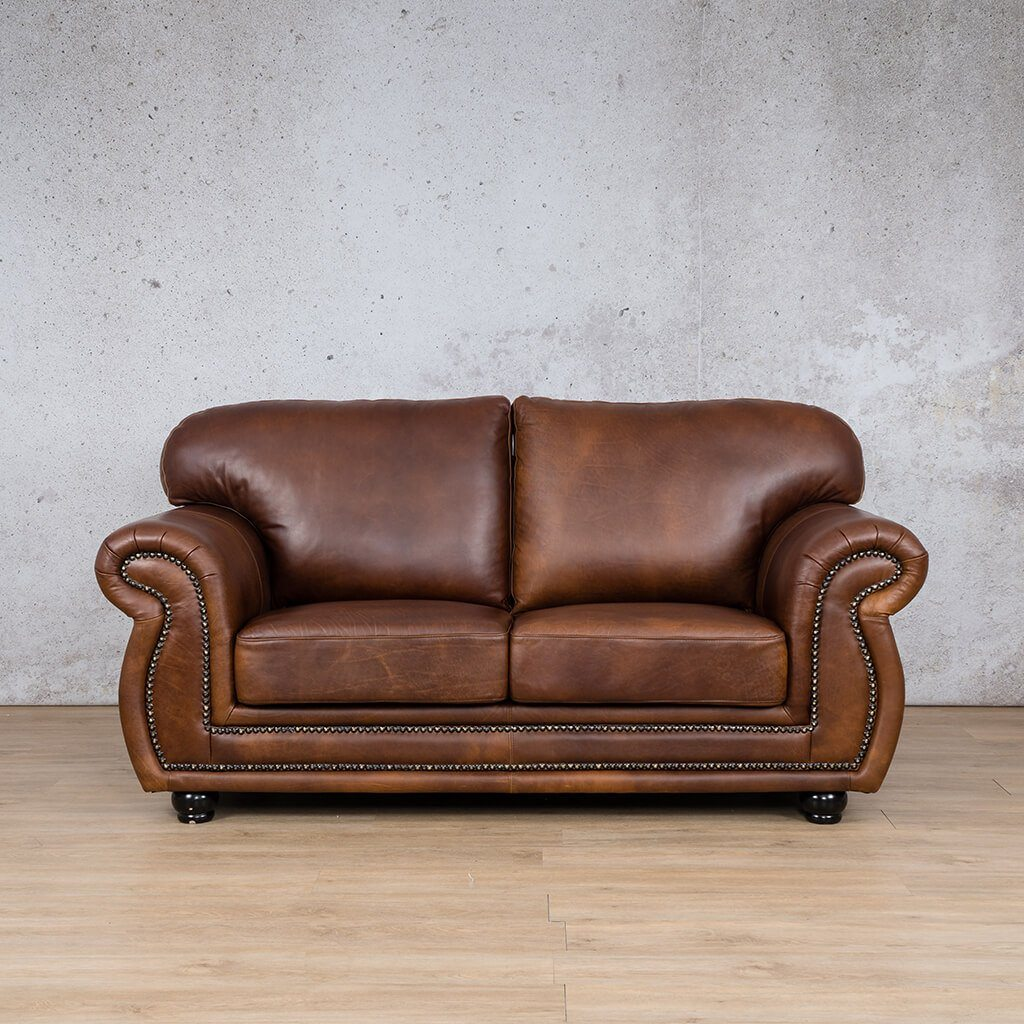 Isilo 2 Seater Leather Sofa