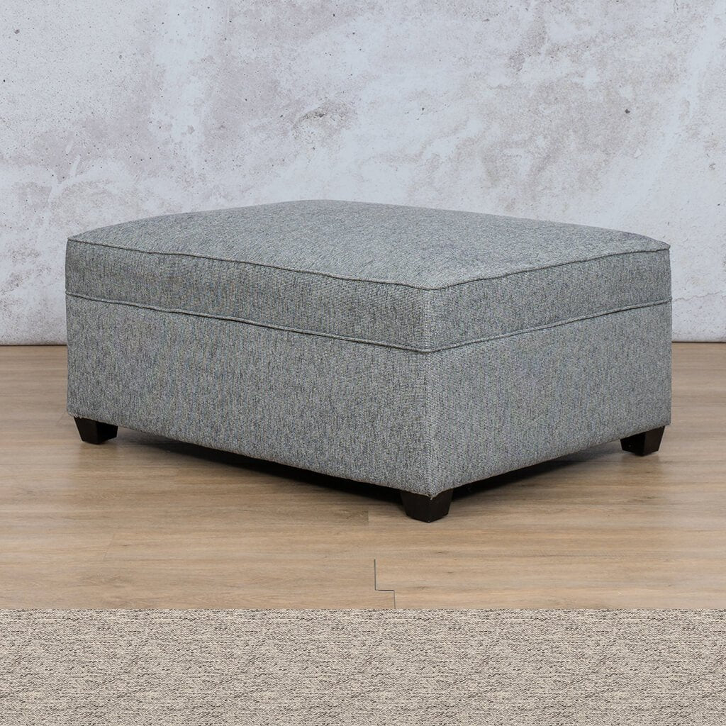 Arizona Fabric Ottoman