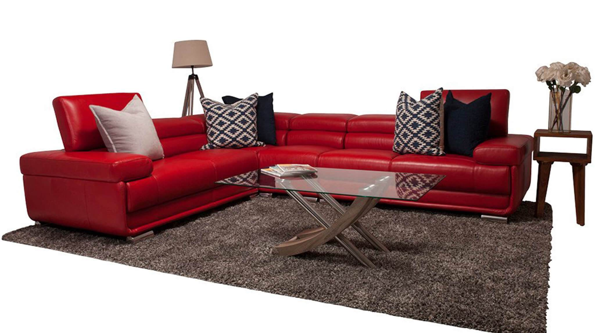 San Miguel Leather Sectional