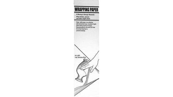 Packing Supplies Newsprint Packing Paper - 10 Pound Box