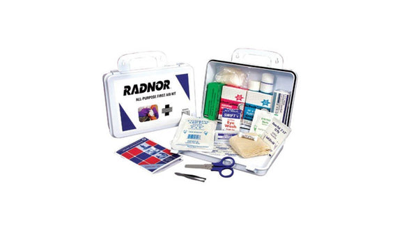 Safety First Aid Kit with Water Proof Case