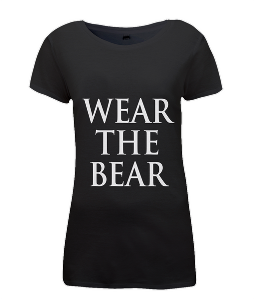 Women's WTB Words T Shirt Black