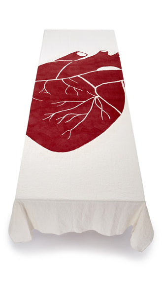"""The Heart Of The Home"" S&B x Solange Linen Tablecloth"