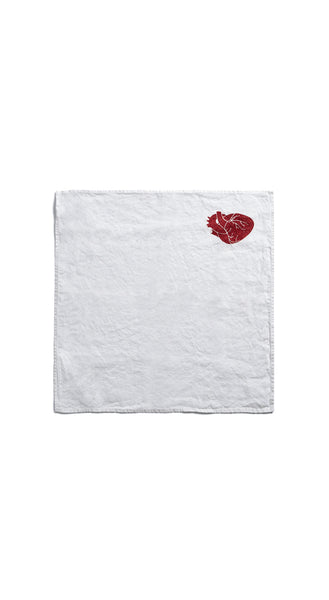 """The Heart Of The Home"" S&B x Solange Linen Napkin"
