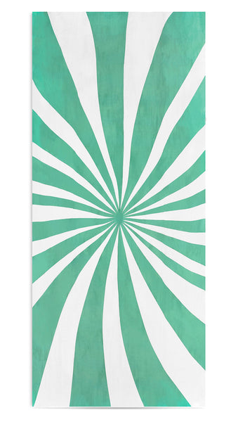Le Cirque Linen Tablecloth in Mint Green