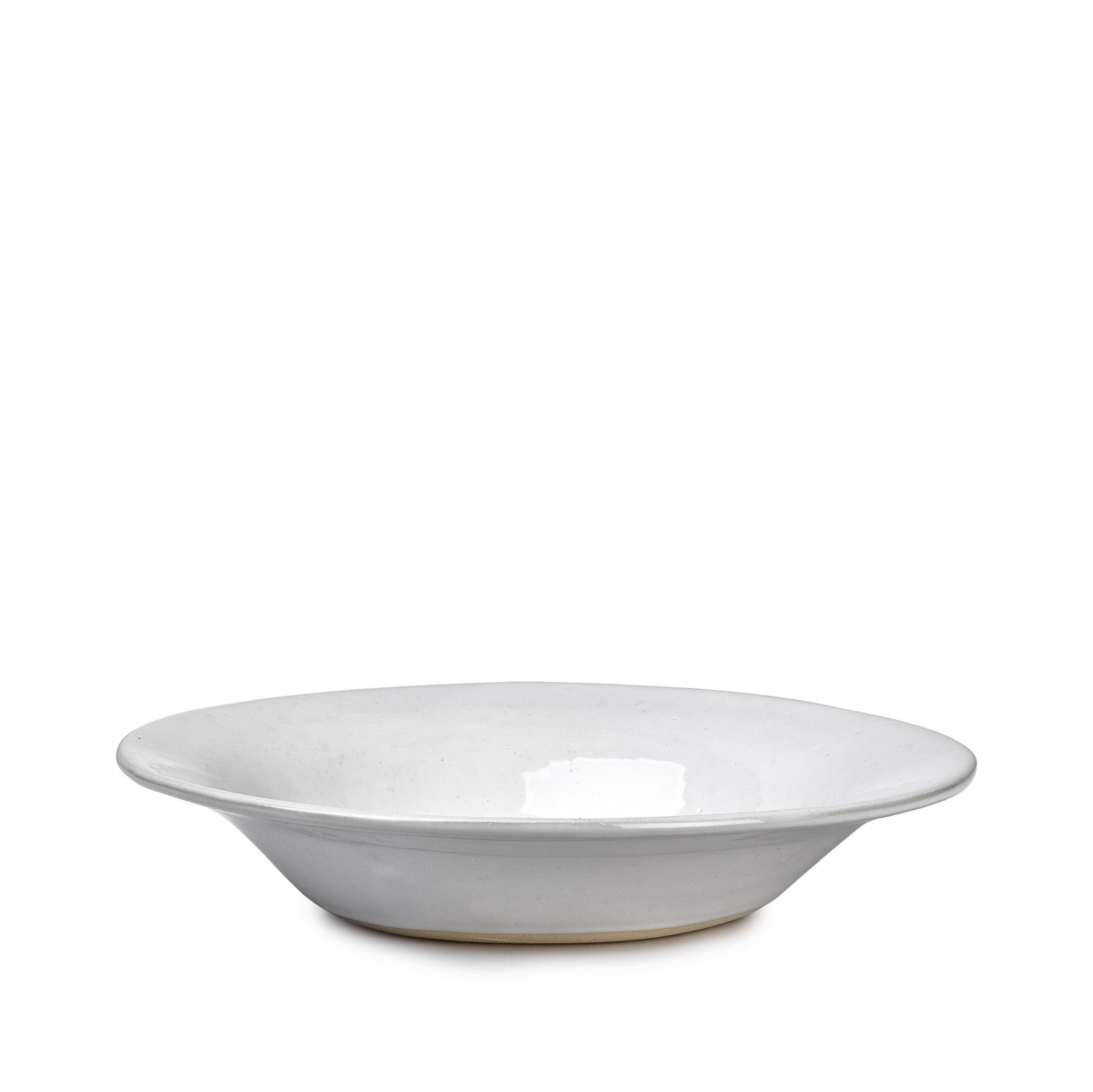 Wonki Ware Pasta and Soup Plate in White, 26cm