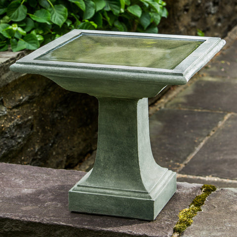 Avery Cast Stone Birdbath - Outdoor Art Pros