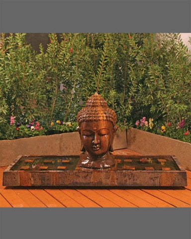 Buddha Outdoor Water Fountain - Fountains - Outdoor Art Pros