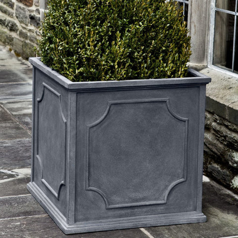 Cumberland Lead Lite Square Planter - Outdoor Art Pros