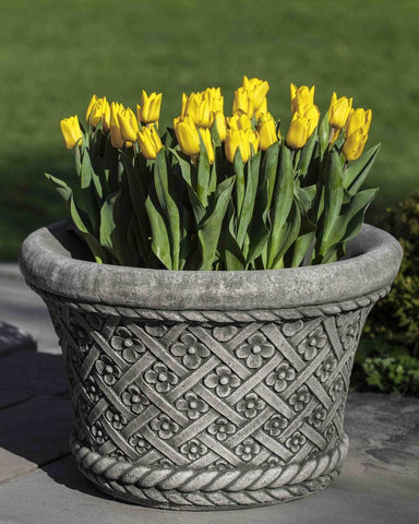 Daisy Garden Planter - Planters - Outdoor Art Pros