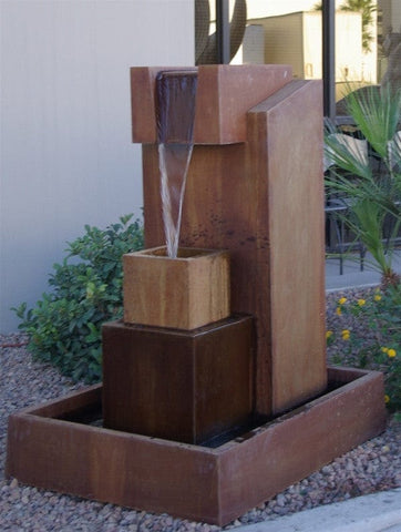 Hierarchy Garden Water Fountain - Fountains - Outdoor Art Pros