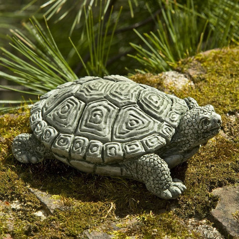 My Pet Turtle Cast Stone Garden Statue - Outdoor Art Pros