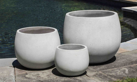 Sandos Planter in Playa Blanca - Set of 3 - Outdoor Art Pros