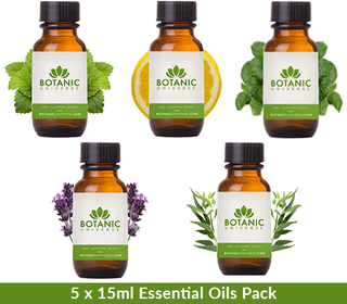 5 Bottle Essential Oil Starter Kit