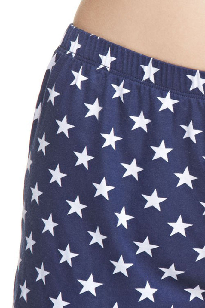 American Flag Shorts Red White Blue