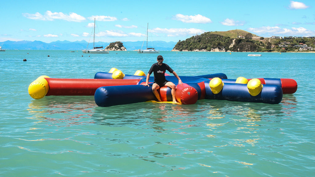 Star Platform - Open Water Aqua Adventure, Pools Aqua Adventure - Aflex Technology