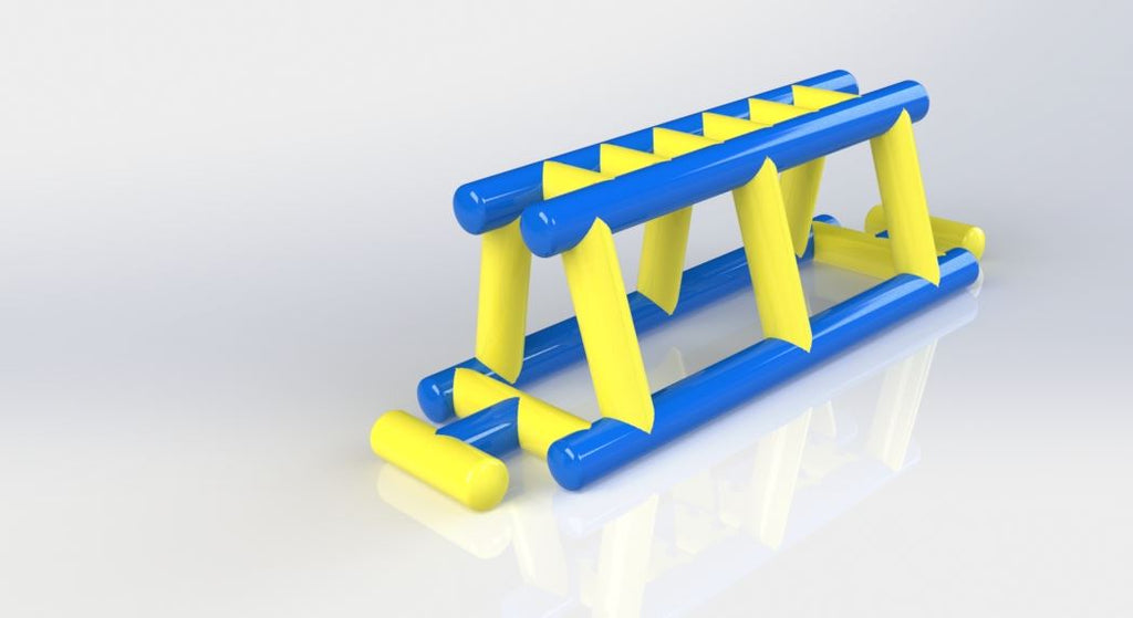 Monkey Bars - Open Water Aqua Adventure - Aflex Technology