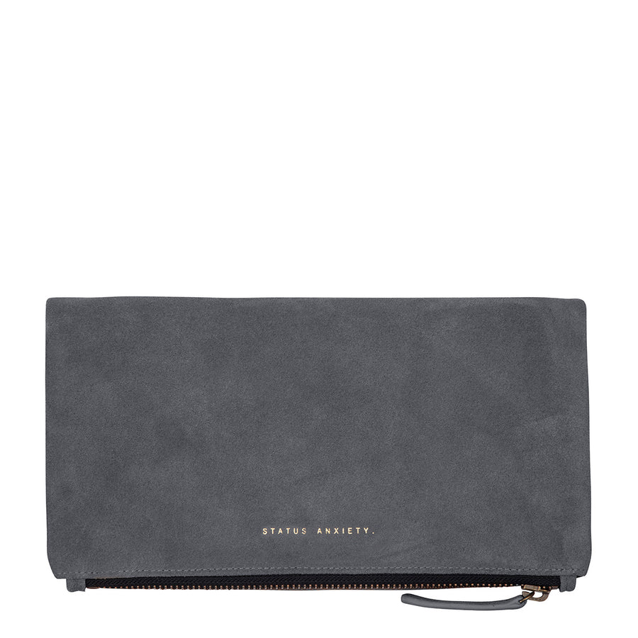 Feel The Night Clutch - Slate