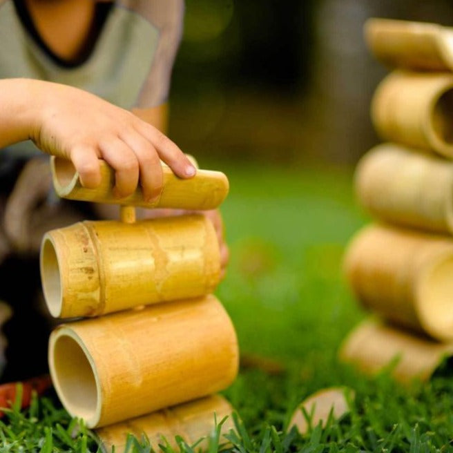 Bamboo Construct and Roll-Wooden sets-The Creative Toy Shop