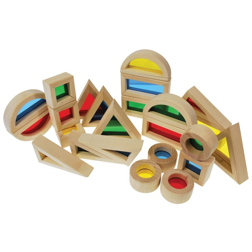 Rainbow Blocks - Set of 24