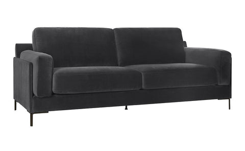 Aubyn 3-Seater Sofa - Dark Grey
