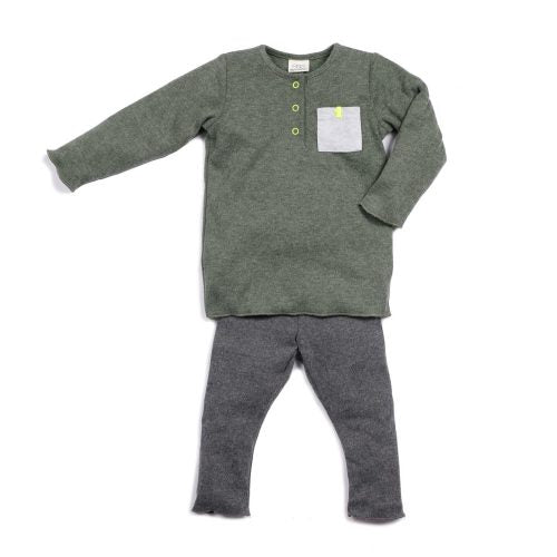 Lee Jersey Set - Blue Sage Baby + Kids