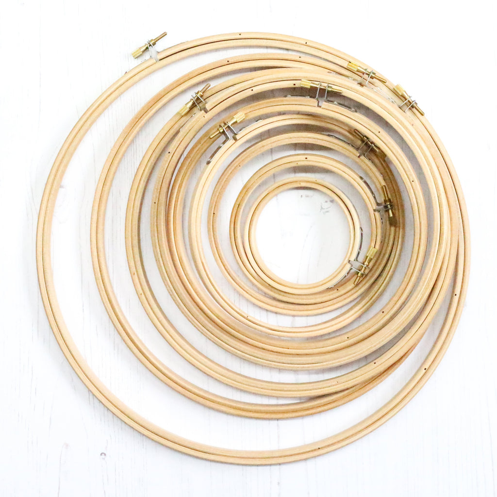 Wooden Embroidery Hoop 10""