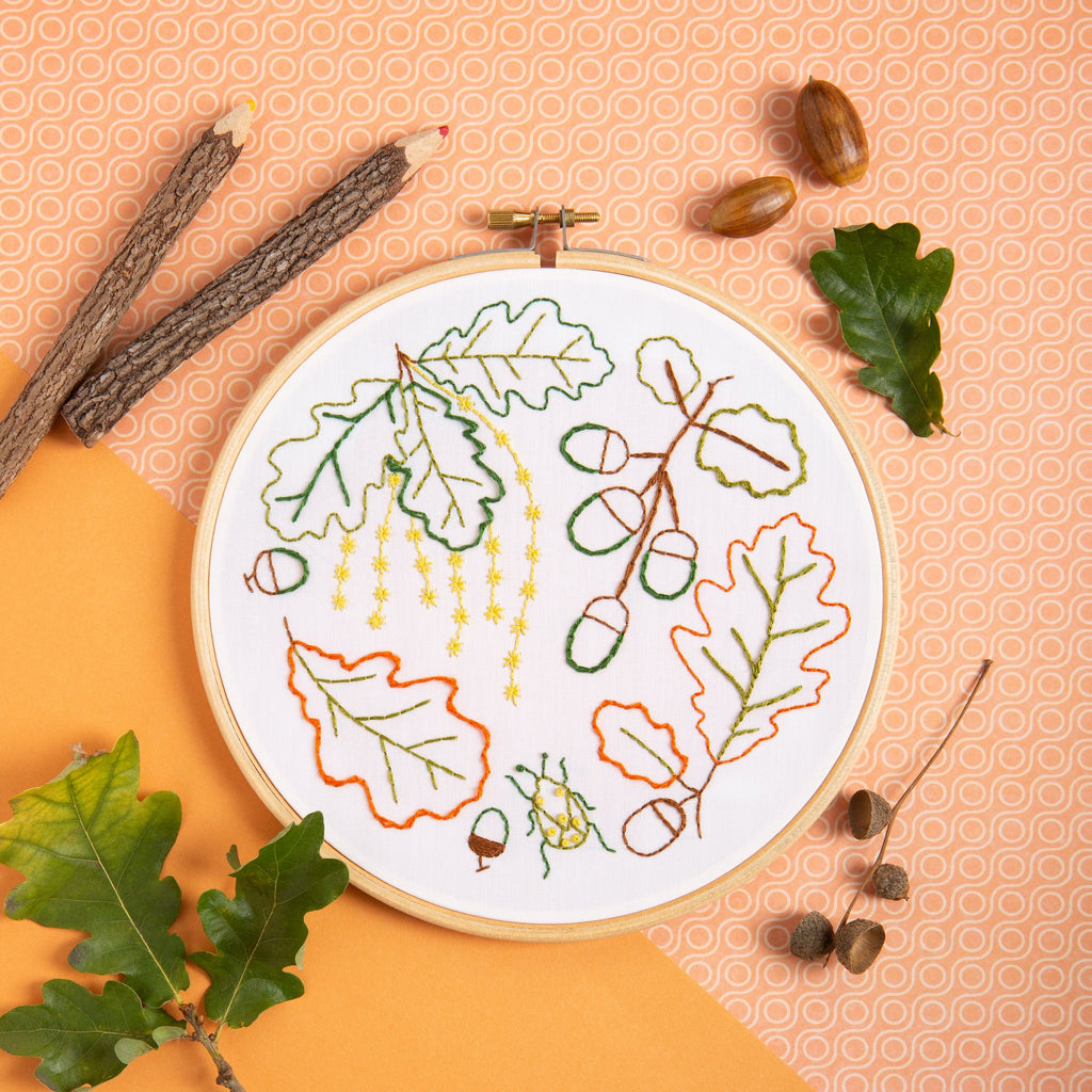 Ancient Oak Embroidery Kit