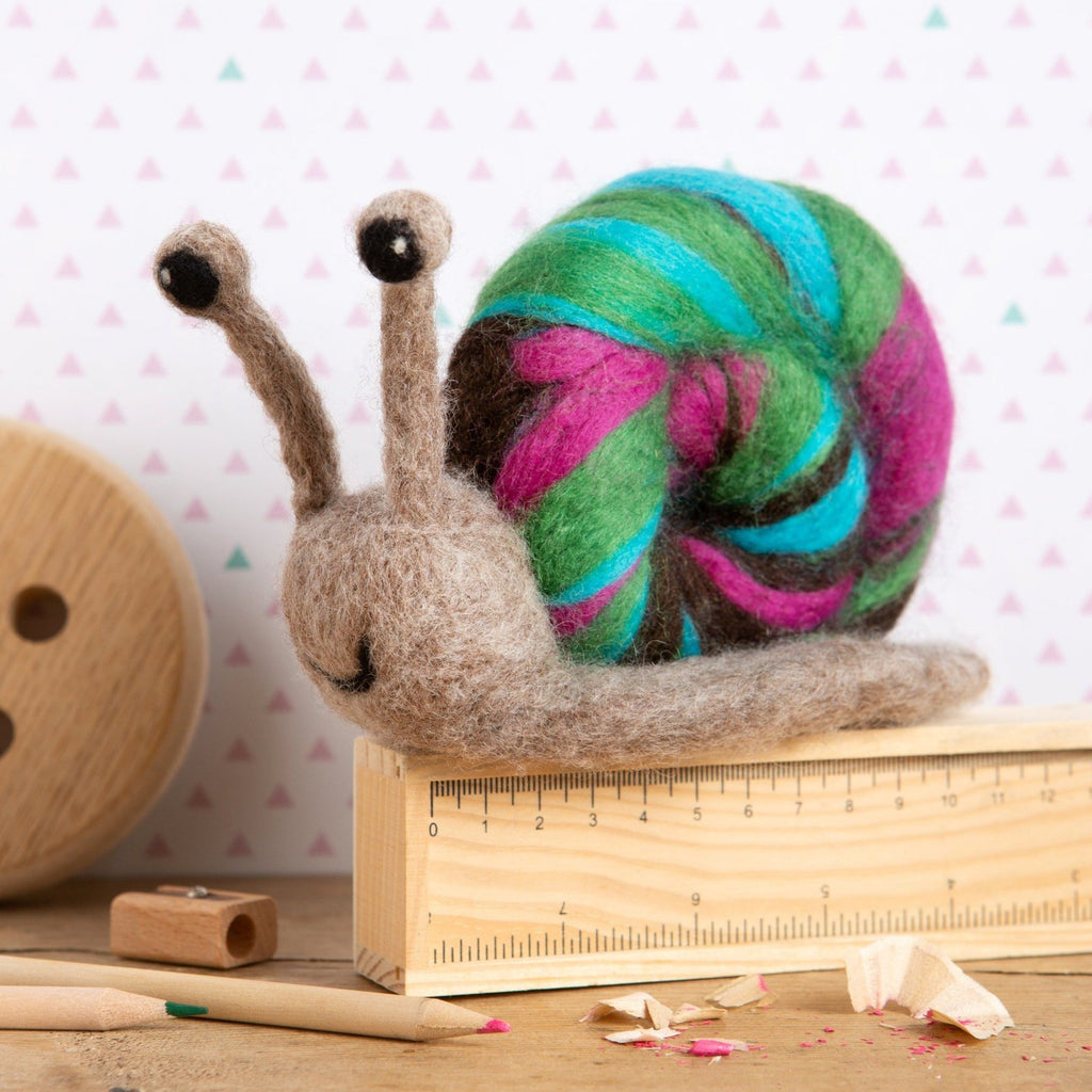 Snail Needle Felting Kit