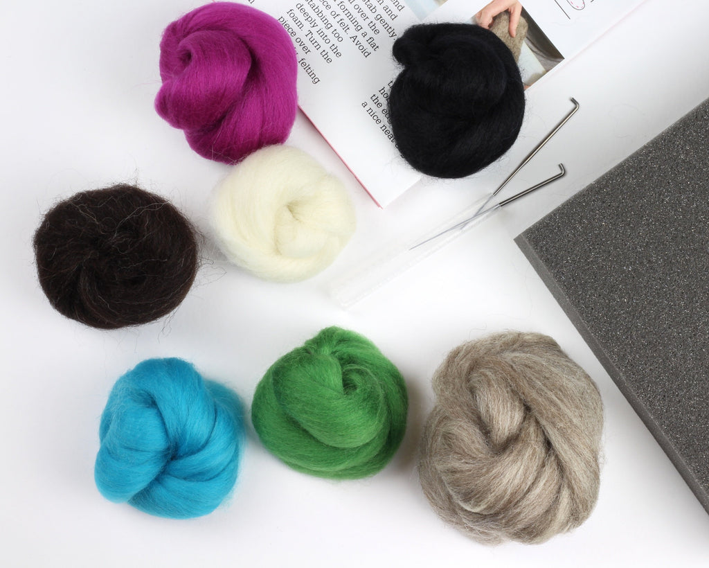 Needle Felting Snail Kit