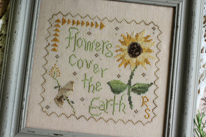 Earth Flower - Cross Stitch Pattern
